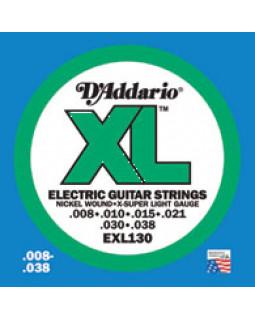 Струны для электрогитары DADDARIO EXL130