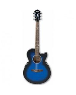 Электроакустическая гитара Ibanez AEG10E TBL