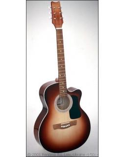 Гитара акустическая RENOME RJ-50C-redsb
