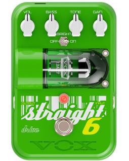 VOX STRAIGHT 6 DRIVE эффект Overdrive