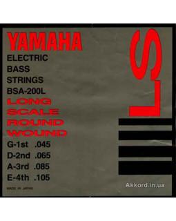 Струны для бас-гитары Yamaha BSA200L