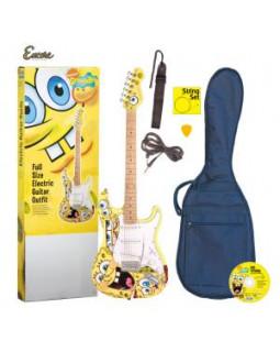 Электрогитара в наборе SpongeBob SBEOFT-YL