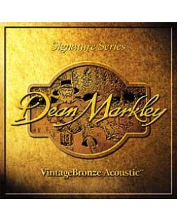 Струны для акустической гитары DEAN MARKLEY VintageBronze Acoustic CL