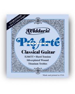 Струны для классической гитары Daddario EJ46TT