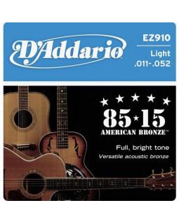 Струны для акустической гитары DADDARIO EZ910