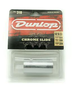 DUNLOP 318 CHROMED STEEL SLIDE LARGE/SHORT