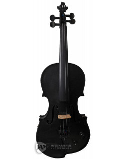 STENTOR 1515/ABK Harlequin Electric Violin Outfit 4/4 (Black)