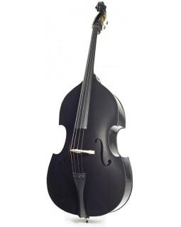 STENTOR 1950LCBK Harlequin Rockabilly Double Bass 3/4 (Black)