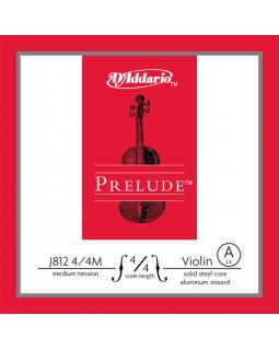 D'ADDARIO PRELUDE VIOLIN SINGLE A STRING 4/4 Scale Medium Tension