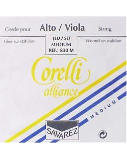 Струны для альта SAVAREZ 830 M струны для альта Corelli Alliance Medium