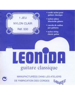 Струны SAVAREZ 530 (LEONIDA) для классической гитары