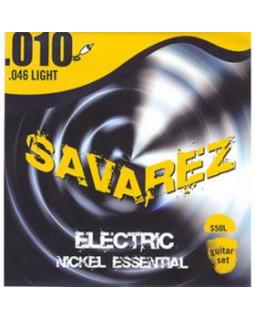 SAVAREZ S50L струны для электрогитары Nickel Essential 0,10-0,46 Light
