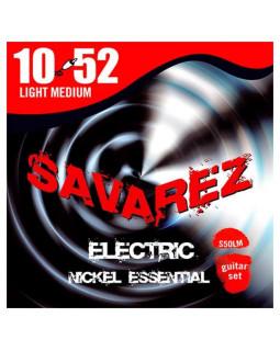 SAVAREZ S50LМ струны для электрогитары Nickel Essential 0,10-0,52 Light Medium