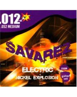 SAVAREZ Х50М струны для электрогитары Nickel Explosion 0,12-0,52 Medium