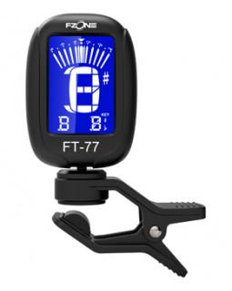 FZONE FT77 Black Тюнер гитарный/хроматический