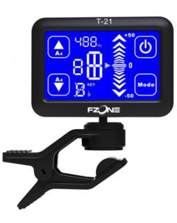 FZONE FT21 Тюнер-прищепка хроматический