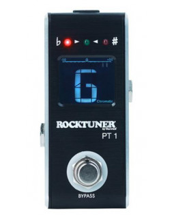 ROCKTUNER RTPT1 BLK MINI PEDAL TUNER