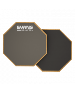 """EVANS RF6D 6"""" REAL FEEL 2-SIDED PAD"""