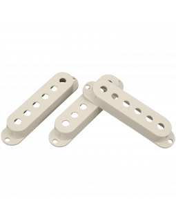DIMARZIO DM2000AW VINTAGE STRAT PICKUP COVERS (Aged White)
